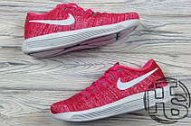 Женские кроссовки Nike LunarEpic Flyknit Pink 843765-601, фото 2