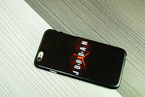 Чехол для iPhone 6  твердый пластик (Jordan), фото 3