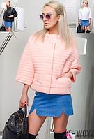 Стильная куртка женская демисезонная X-Woyz 8733