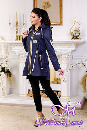 Женская качественная осенняя куртка (р. 44-54) арт. 1021 Тон 574, фото 2