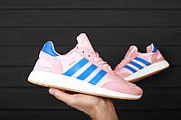 Женские Кроссовки Adidas Iniki Pink/ Топ реплика (1:1 к оригиналу )/ Адідас Інікі