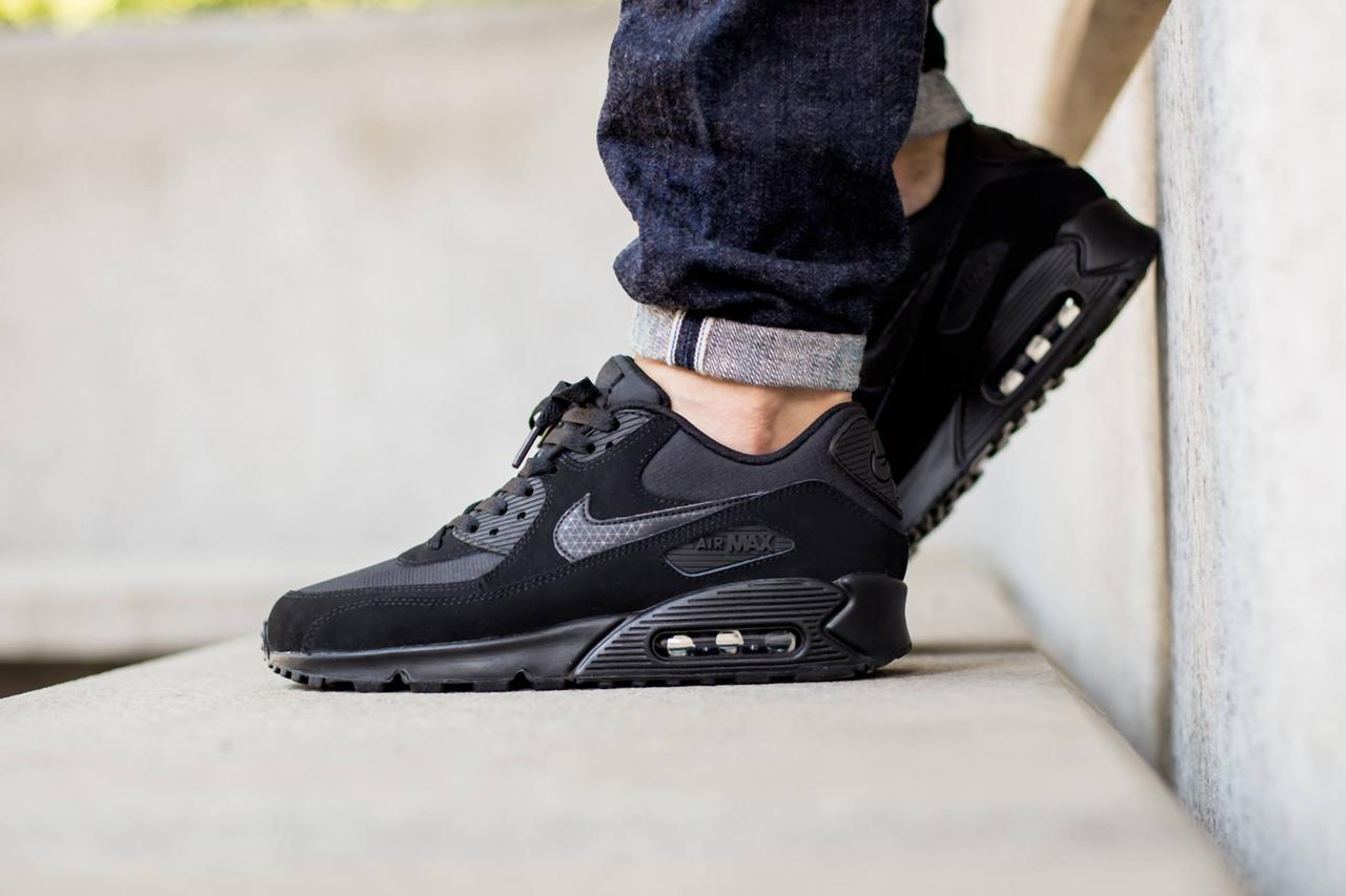 reputable site cbeb5 f33a5 ... official nike air max 90 essential triple black 047f0 92144