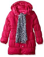 Пальто с шарфом Pink Platinum (США) для девочки 3-4 года