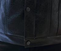 Мужская кожаная куртка. Модель 61130, фото 7