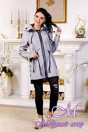 Модная женская осенняя куртка (р. 44-54) арт. 1021 Тон 41, фото 2