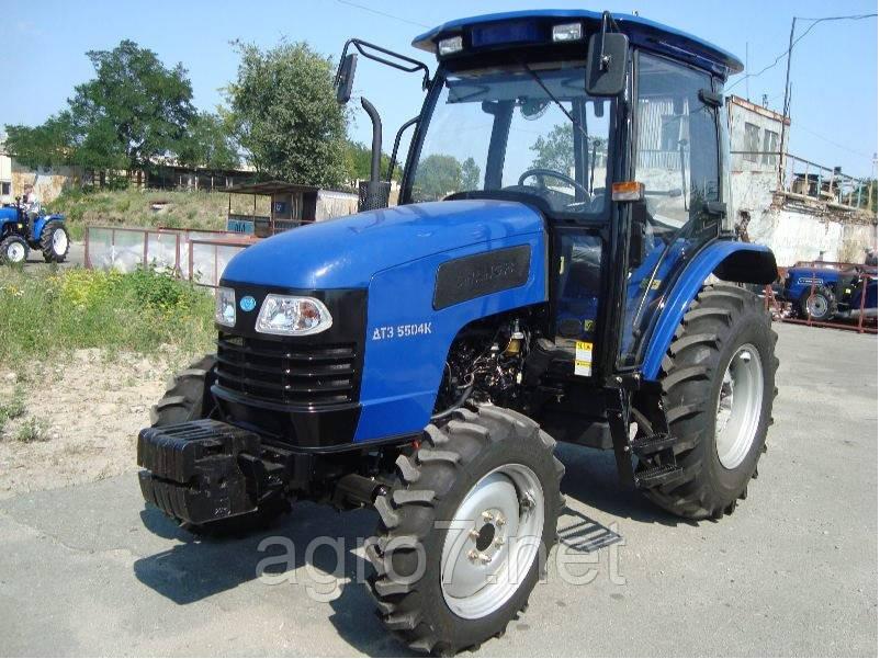 Трактор ДТЗ 5504К (50 л.с., реверс, кабина с отоплением)