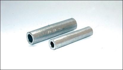 Гильзы кабельные соединительные алюминиевые ГОСТ 23469.2-79, закрепляемые опрессовкой