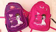 Рюкзак школьный для девочек 4-8 классов размер 42х30х18