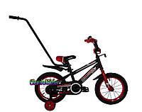 """Детский велосипед Crosser Sports 14"""" с ручкой"""