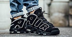 "Кроссовки Nike Air More Uptempo ""Black White"", фото 2"