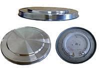 Тэн на дисковый чайник. диаметр 150\155 мм мощность 1850-2200 вт на 220 в.Нержавеющий