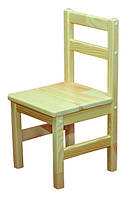 Стул детский деревянный (37425)