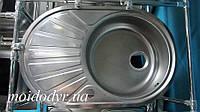 Мойка кухонная из нержавеющей стали  Teka DR 77 полированная (дефект)