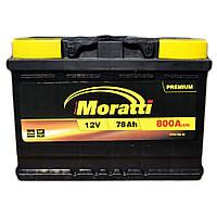 Аккумулятор автомобильный Moratti 6СТ-78 АзЕ