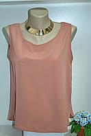 Шифоновая летняя блуза свободный покрой, фото 1