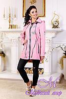 Женская демисезонная куртка с удлиненной спиной (р. 44-54) арт. 1021 Тон 39