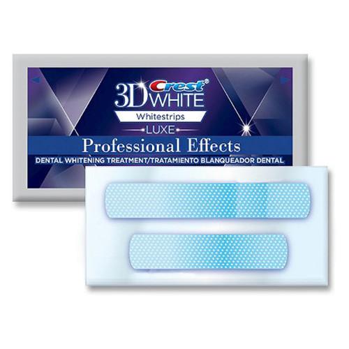 Полоски №1 для отбеливания зубов в домашних условиях «Crest Whitestrips 3D White Professional Effects»
