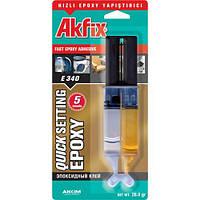 Клей эпоксидный  Akfix E340 (шприц)