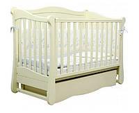 Кроватка для новорожденных Соня ЛД 18 Верес слоновая кость