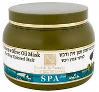 Маска для сухих и окрашенных волос с оливковым маслом и мёдом Health & Beauty