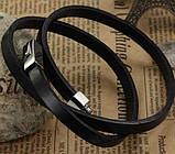 Мужской кожаный браслет Primo Cowboy, фото 3