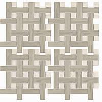MMCXMA81 mosaico marmo acero bardiglio 30x30х9,5