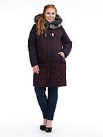 Куртка женская, стеганная, батал, фото 1