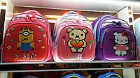 Рюкзак школьный  лего для девочек 1-7 классов 2017 размер 40х30х18