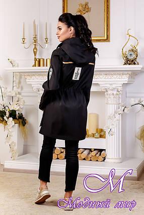 Женская осенняя куртка большого размера (р. 44-54) арт. 1021 Тон 21, фото 2