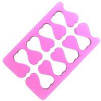 YRE Аксессуар для педикюра (разделитель для пальцев ног) OP-01 розовый