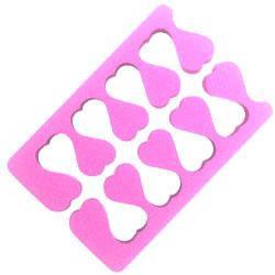 YRE Аксессуар для педикюра (разделитель для пальцев ног) OP-01 розовый, фото 2