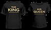 """Парные футболки """"The King - His Queen"""""""