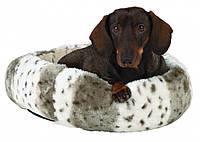Лежак Trixie Leika плюш и полиэстер, бежево-белый, 50 см, фото 1