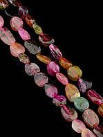 043487 Бусины Турмалин 41 см. (Без замка)  фурнитура для рукоделия из натуральных камней