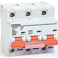 Автоматический выключатель Hyundai HIBD125 125A, 3P, C 10КА