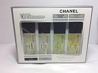 Парфюмерия с феромонами Chanel для мужчин ( Набор Шанель 15мл 4 шт)