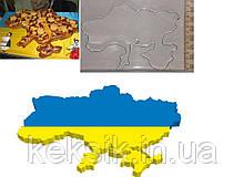 Резак Карта Украины