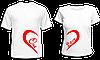 "Парные футболки ""One Love"""