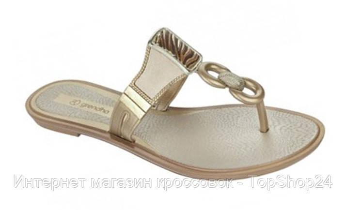 Шлепанцы женские Grendha Golden Gold 81649-90124