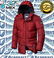 Мужская стильная куртка Braggart Dress Code - 4910#4909 красный