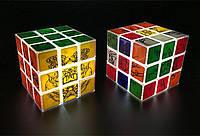 Кубик Рубика 3х3 с LED-подсветкой LORD, размер 89х89х89 мм