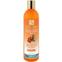 Лечебный шампунь для сухих и окрашенных волос с маслом облепихи Health & Beauty