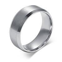 Кольцо Stainless Steel в серебряном цвете