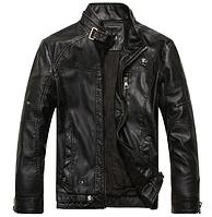 Мужская кожаная куртка. Модель 61135