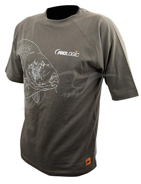 Футболка Prologic Carp T-Shirt Short/S Sage Green XL (1846.07.00 50158)