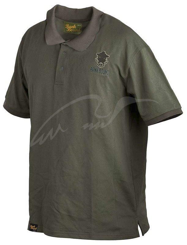 Футболка Prologic Bank Bound Polo L ц:green (1846.11.04 54643)