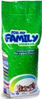 Стиральный порошок For My Family Universal 10 кг. (133 стирки)