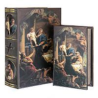 """Книга шкатулка """"Святое семейство"""" набор из 2 шт."""