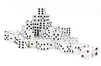 Игральные кости (кубики) 8*8мм(100 шт упаковка)