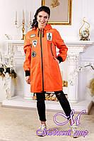Модная женская осенняя куртка (р. 44-54) арт. 1028 Тон 632